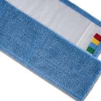 Mikrofasermopp, blau, 50 cm, Taschenmopp, Mopp für Klapphalterung,
