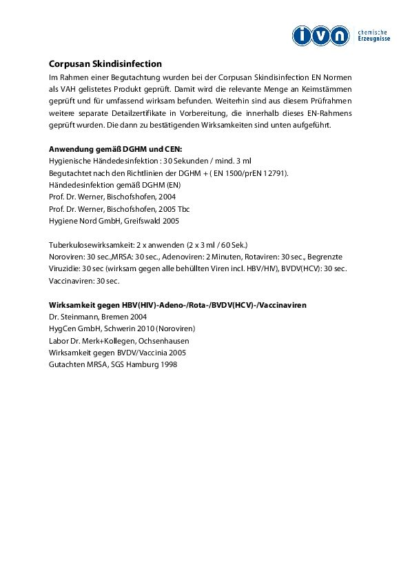 Datenblatt lavela corpusan EMH1000